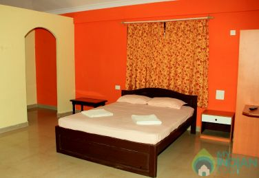 AC Rooms in a guest House in Morjim
