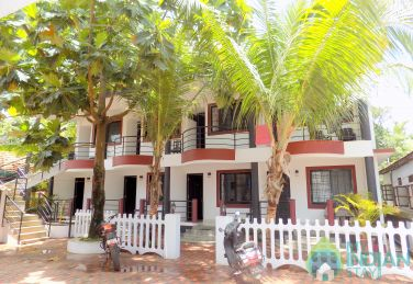 Deluxe Rooms in a Guest House Near Anjuna Beach