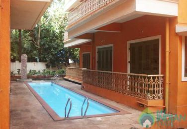 Fully Furnished 2 BHK Serviced Apartment In Calangute