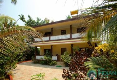 Well Maintain Double Rooms In Guest House In Palolem