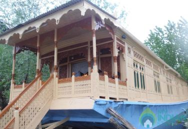 Pretty House Boats In Srinagar,Kashmir