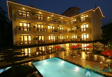 Super Deluxe AC Rooms Pool Facing With Balcony In Beach Resort, Calangute