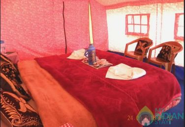 Deluxe Tent in Camp Blue Waters