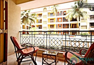 A/c 2 BHK Pool Facing, Ground Floor Apartment