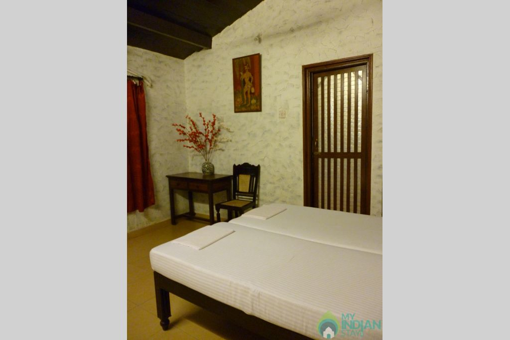 Bedroom in a Guest House in Panjim, Goa