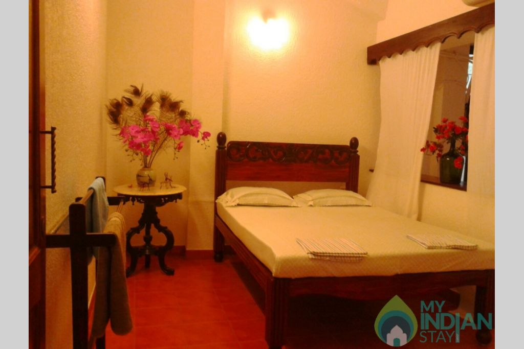 Room-double in a Guest House in Panjim, Goa