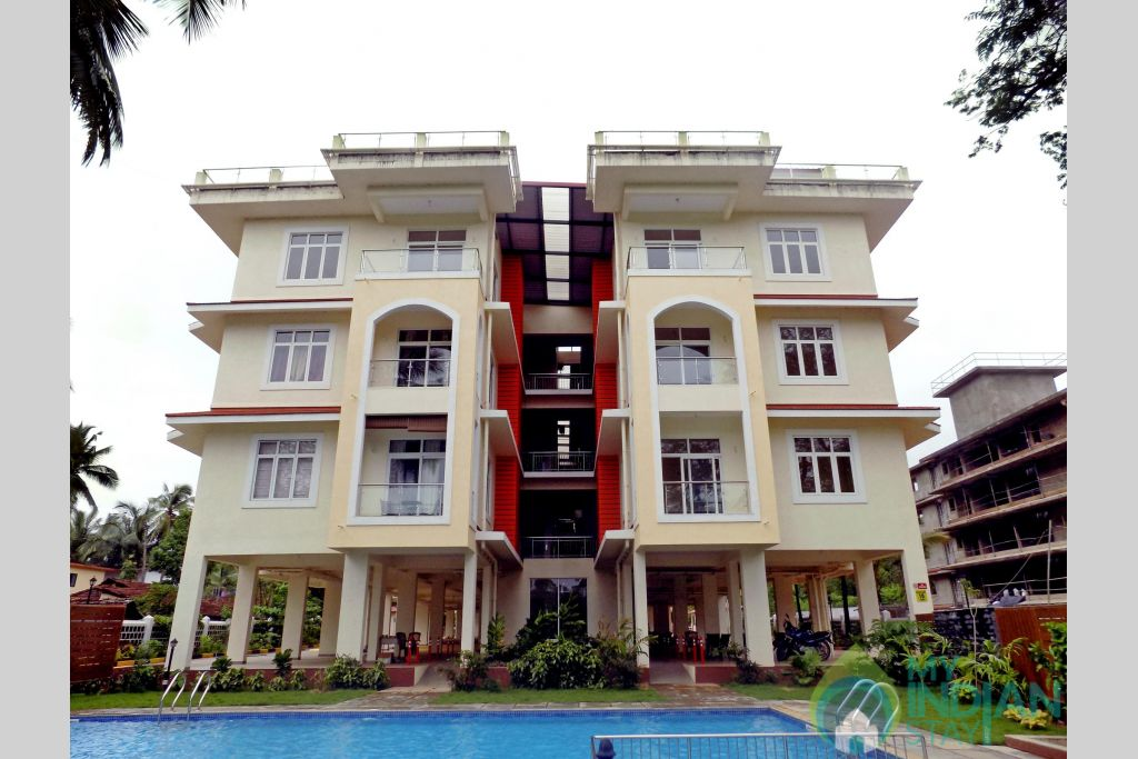 1 Casamelhor 2bedroom Candolim in a Serviced Apartment in Candolim, Goa