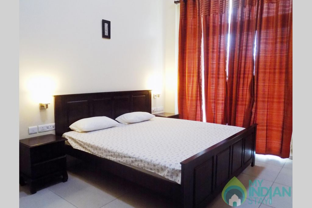 7 CasaMelhor Candolim Bedroom 1 in a Serviced Apartment in Candolim, Goa