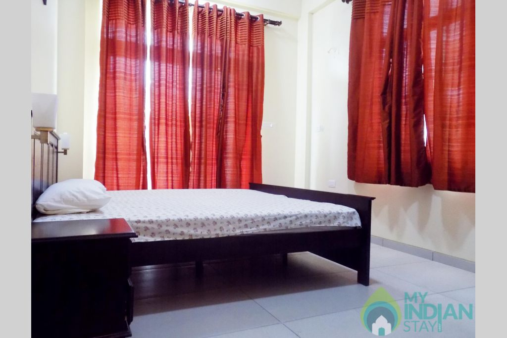 8 CasaMelhor Candolim Bedroom 1 in a Serviced Apartment in Candolim, Goa