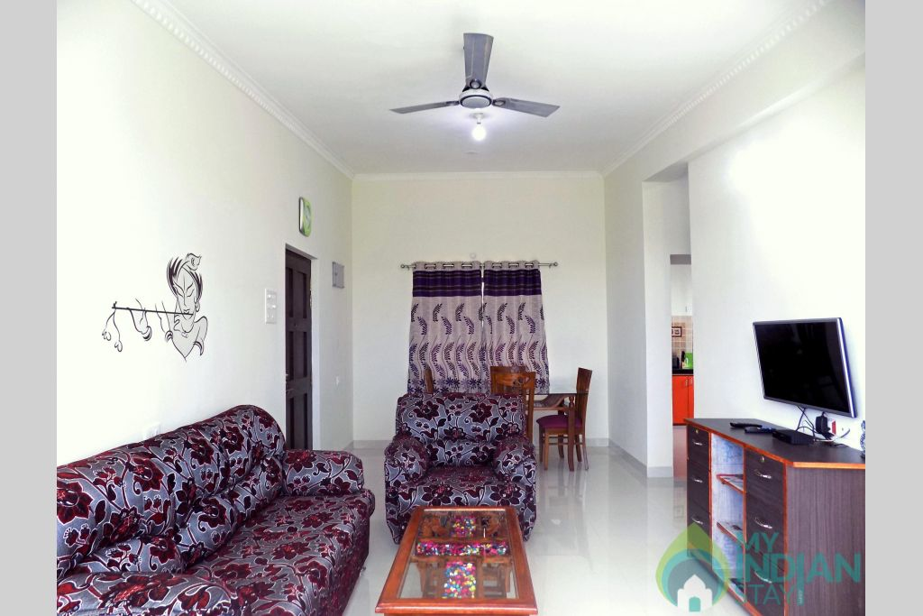 2  in a Serviced Apartment in Candolim, Goa