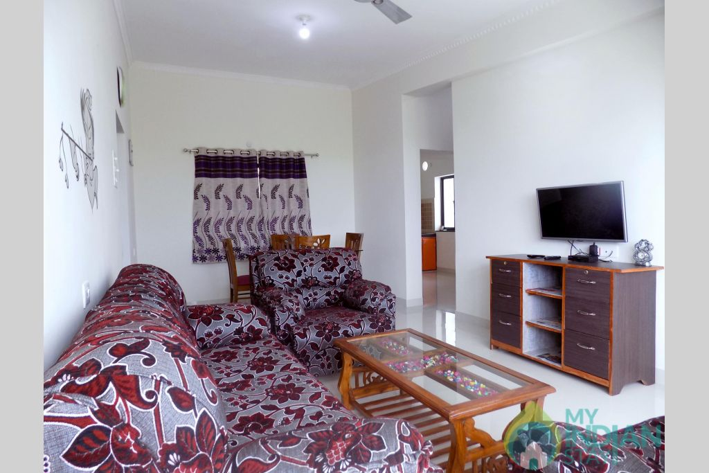 3 in a Serviced Apartment in Candolim, Goa