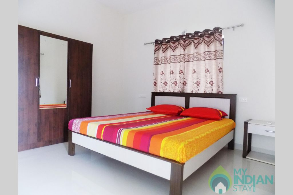 5 in a Serviced Apartment in Candolim, Goa