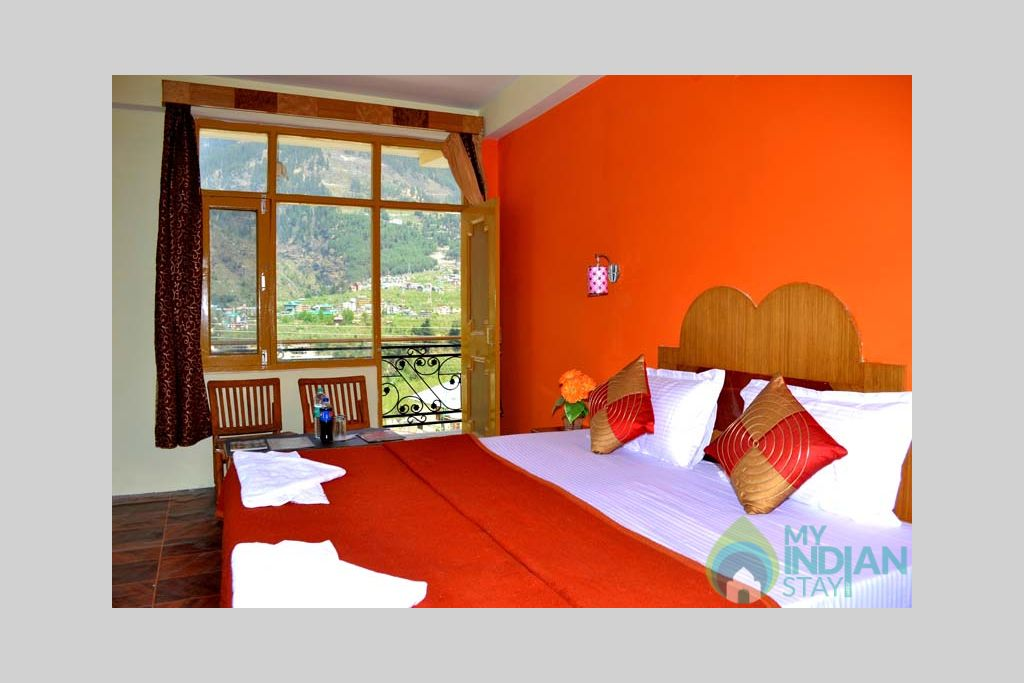 Bedrooms in a Hotel in Manali, Himachal Pradesh