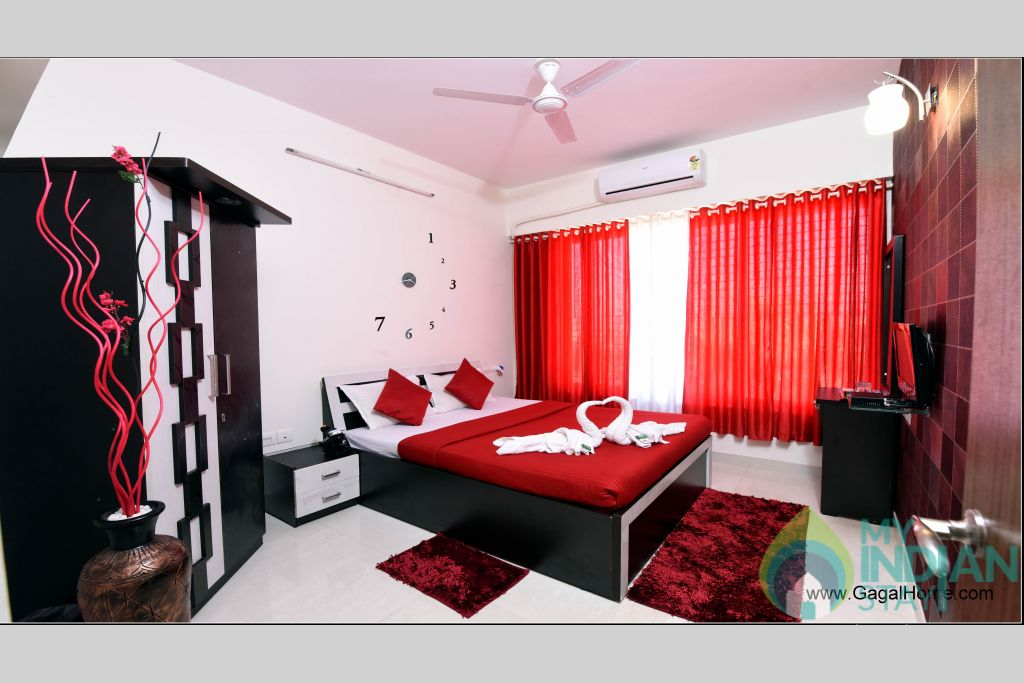 Bedroom 1 (1) in a Serviced Apartment in ,