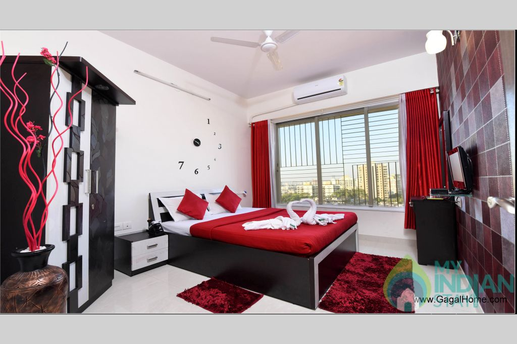 Bedroom 1 (2) in a Serviced Apartment in ,