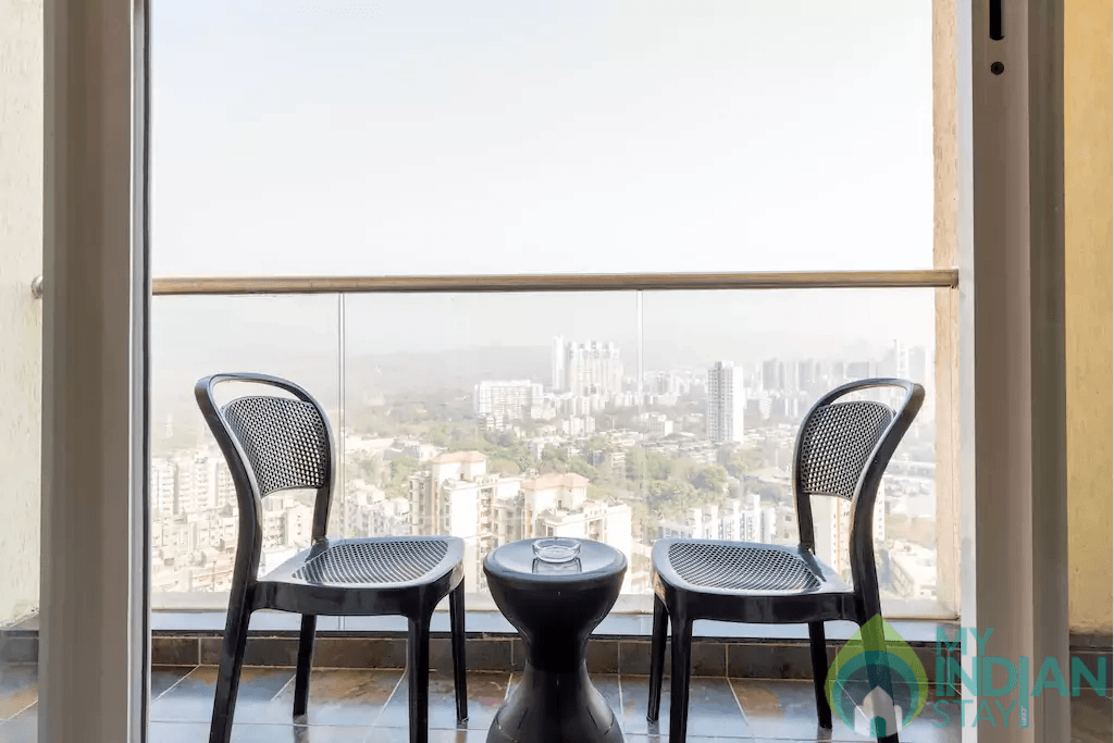 3 (2) in a Serviced Apartment in Mumbai, Maharashtra