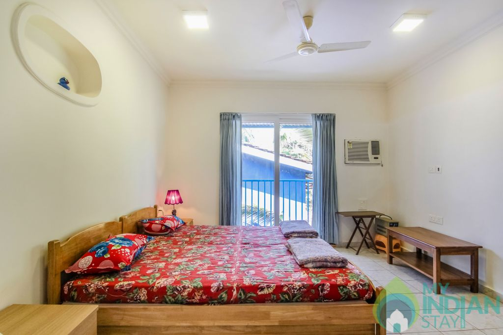 2 in a Self Catered Apartment in Calangute, Goa