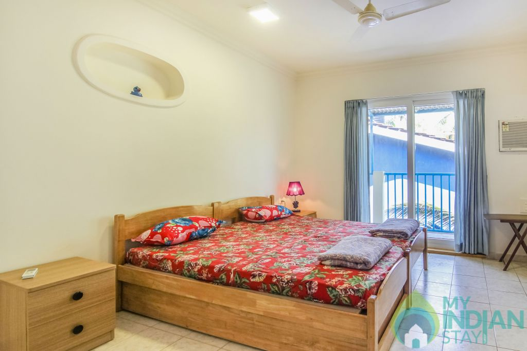 3 in a Self Catered Apartment in Calangute, Goa
