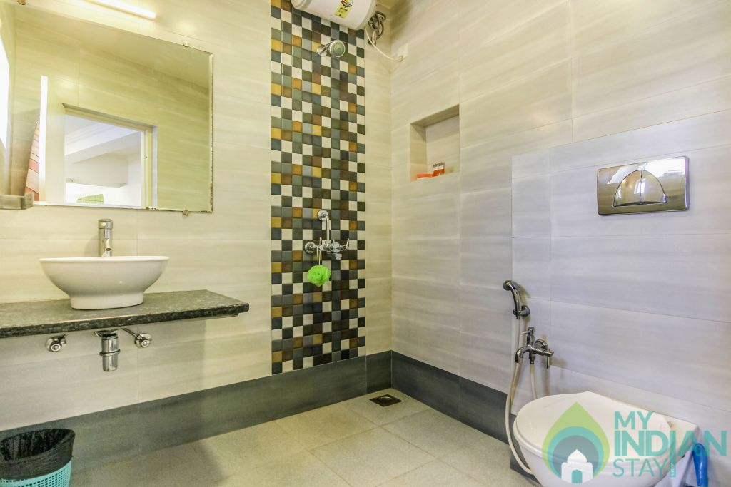 7 in a Self Catered Apartment in Calangute, Goa