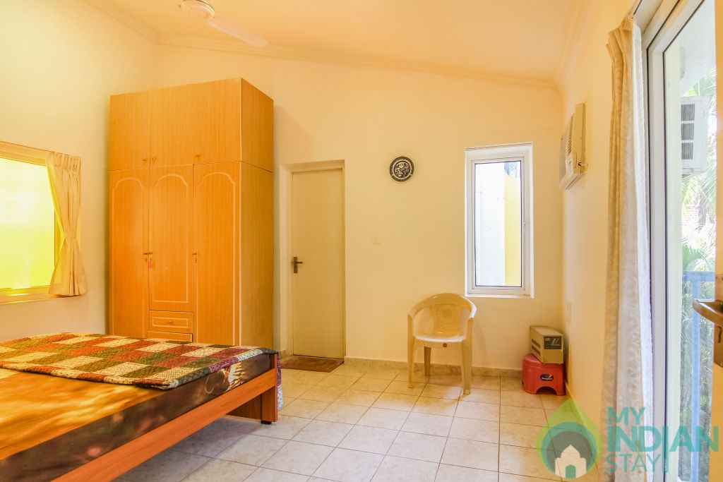 9 in a Self Catered Apartment in Calangute, Goa