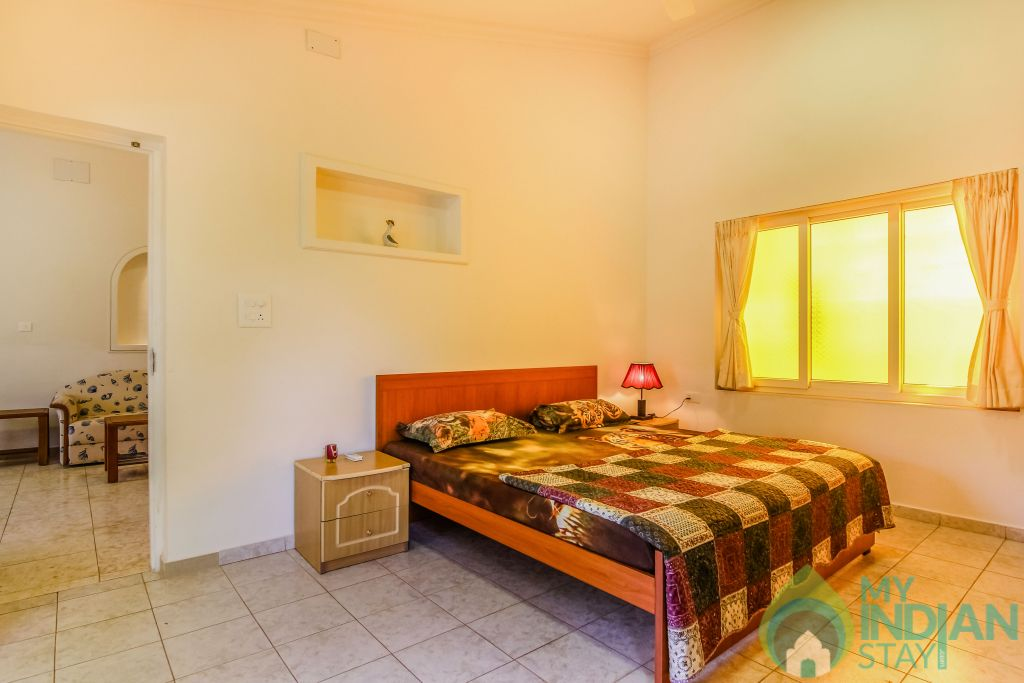 11 in a Self Catered Apartment in Calangute, Goa
