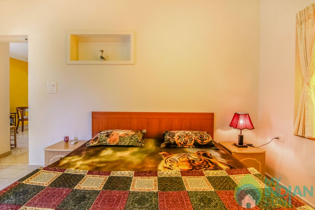12 in a Self Catered Apartment in Calangute, Goa