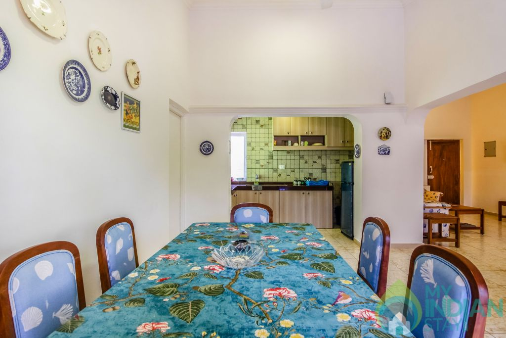 21 in a Self Catered Apartment in Calangute, Goa