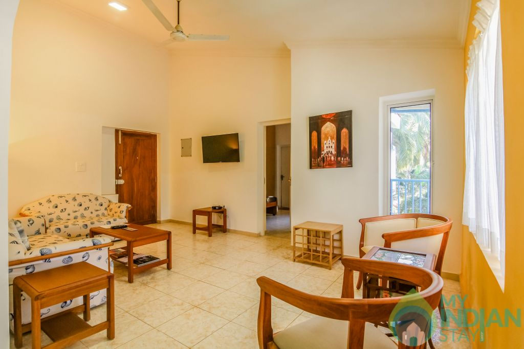 25 in a Self Catered Apartment in Calangute, Goa
