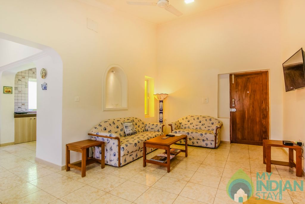 26 in a Self Catered Apartment in Calangute, Goa