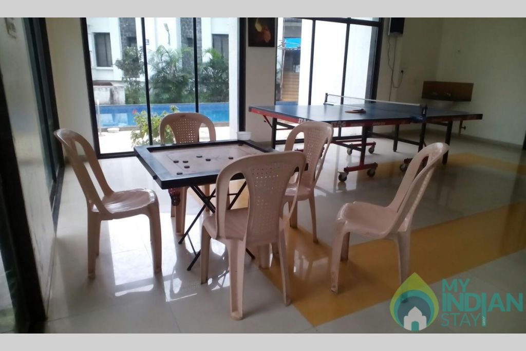 Game Zone in a Serviced Apartment in Lonavala, Maharashtra