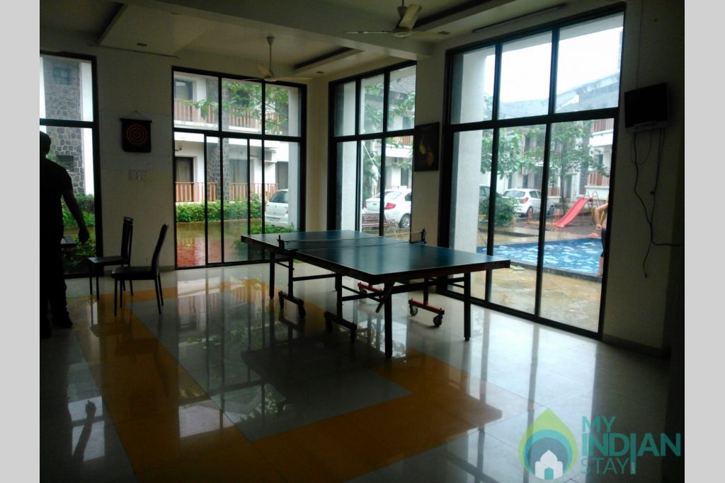 Game zone 2 in a Serviced Apartment in Lonavala, Maharashtra