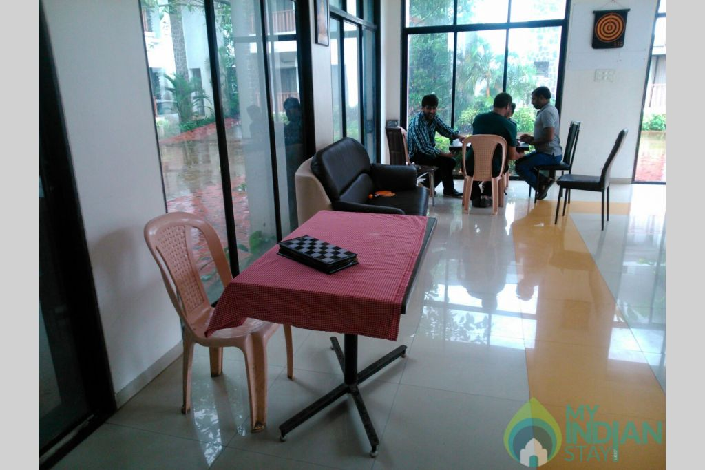 Game zone 3 in a Serviced Apartment in Lonavala, Maharashtra