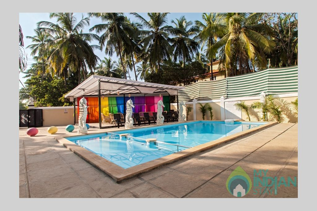 private-pool-luxury-villa in a Villa in Calangute, Goa