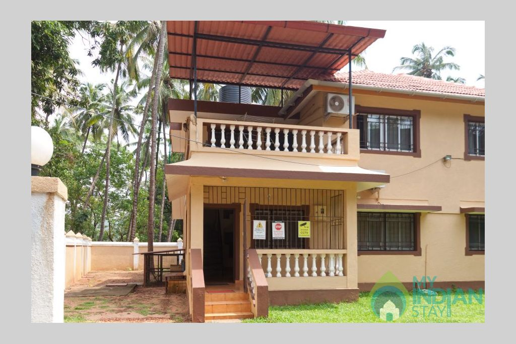 private-holiday-homes-in-goa-for-rent in a Villa in Calangute, Goa