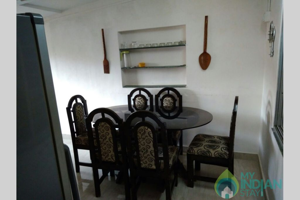 Dining Area in a Independent Bungalow in Lonavala, Maharashtra