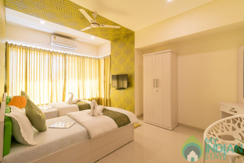 Bedroom 1 in a Serviced Apartment in Mumbai, Maharashtra