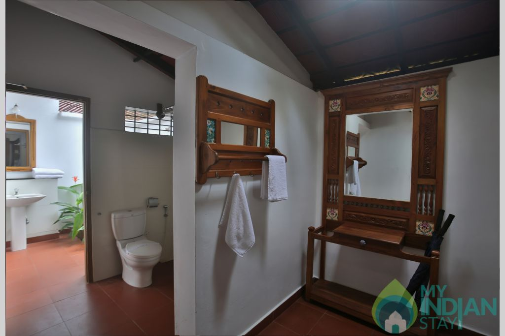 Suite-Dressing Area in a Cottage/Huts in Alappuzha, Kerala