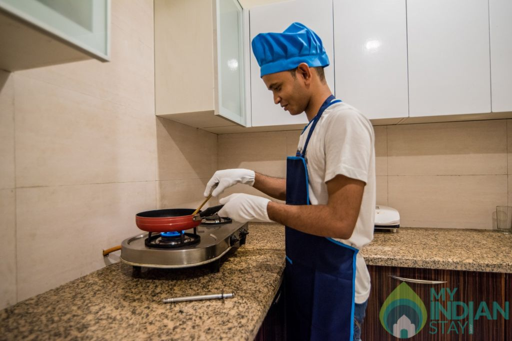 Personal Chef in a Serviced Apartment in Mumbai, Maharashtra