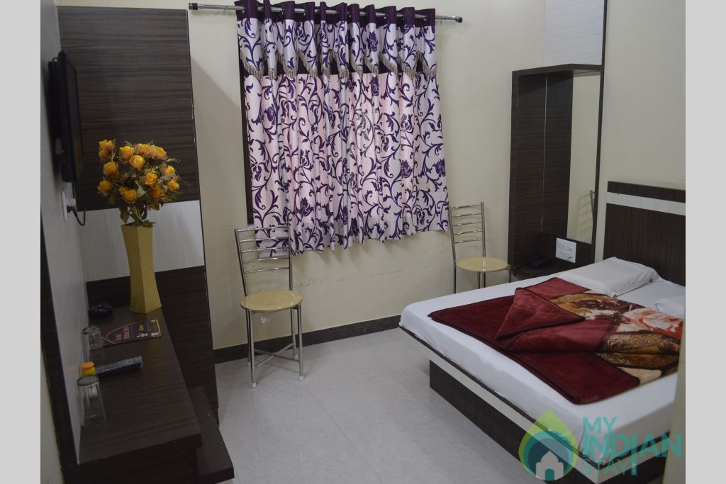 Double Bed A in a Hotel in Ajmer, Rajasthan