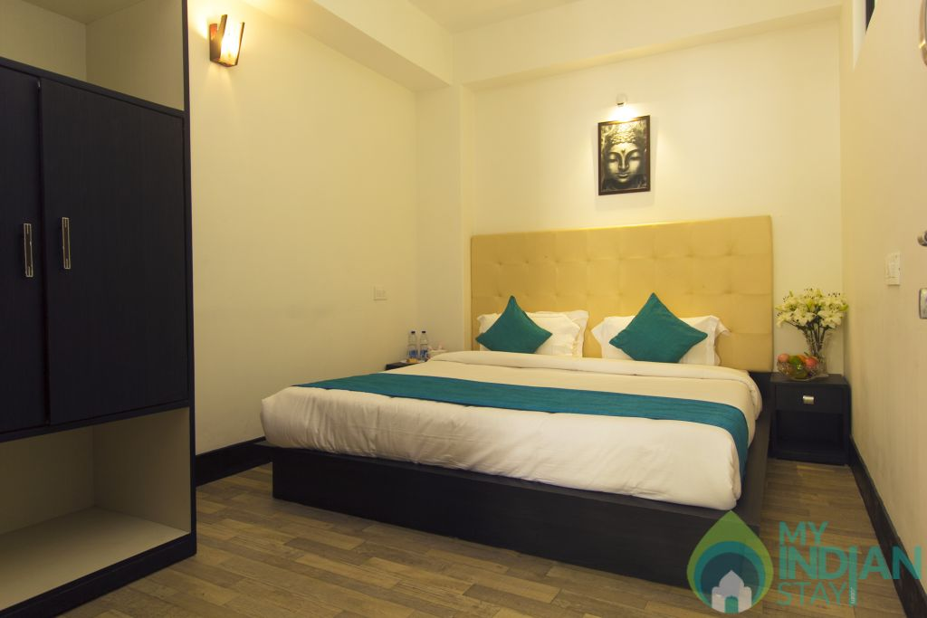 Bedroom in a Serviced Apartment in Gangtok, Sikkim