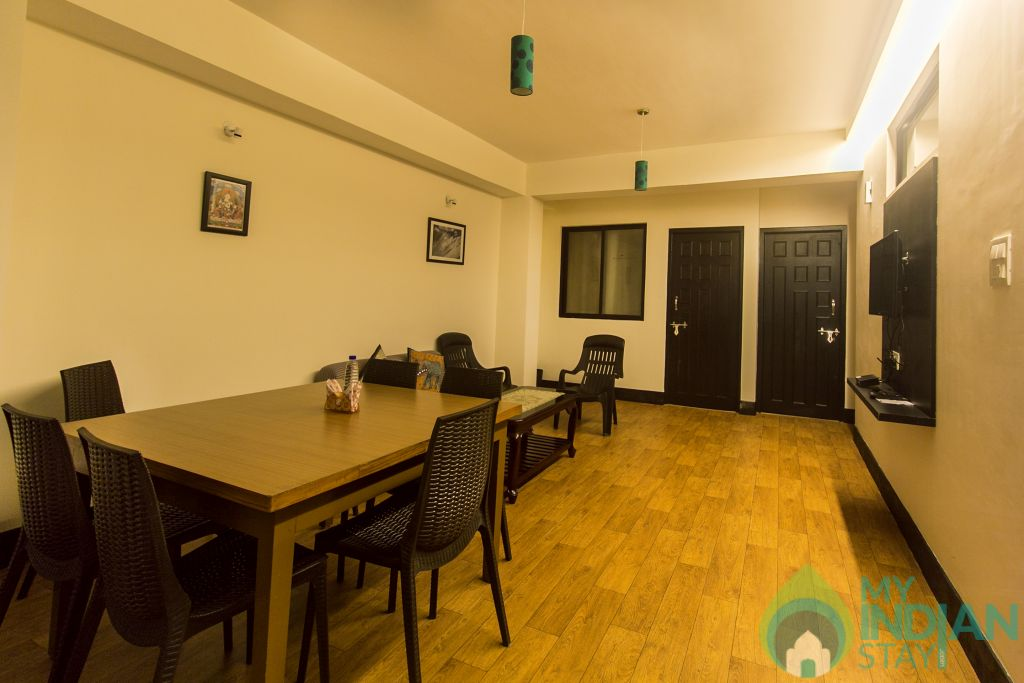 Dining Area in a Serviced Apartment in Gangtok, Sikkim
