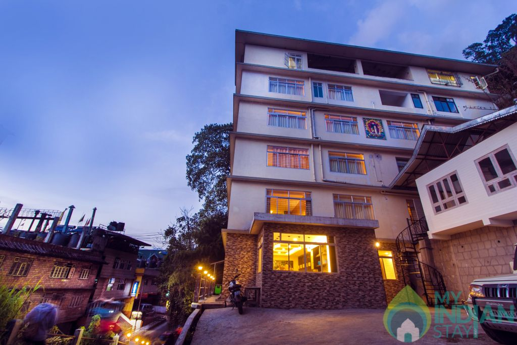 Hotel Building in a Serviced Apartment in Gangtok, Sikkim