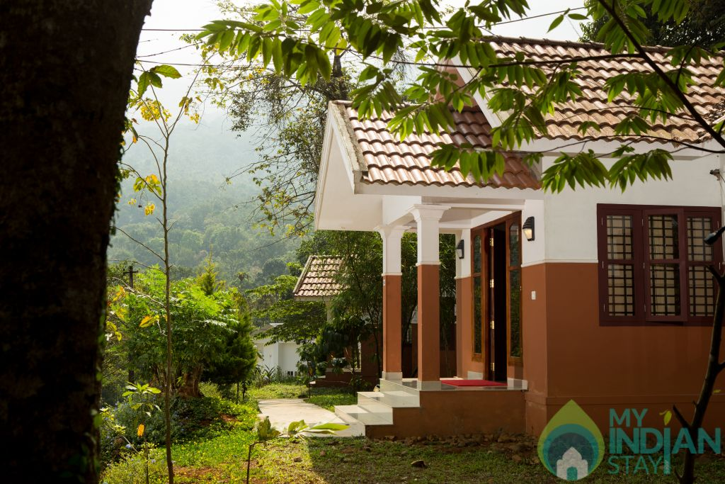 Breeze twin bedroom villa 04 in a Villa in Vythiri, Kerala