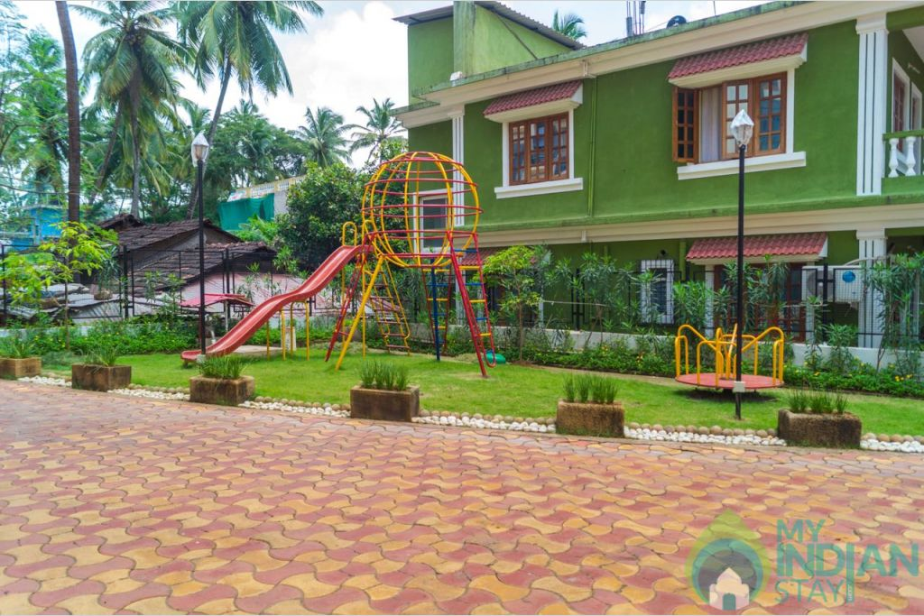 Kids Play Area in a Serviced Apartment in Calangute, Goa