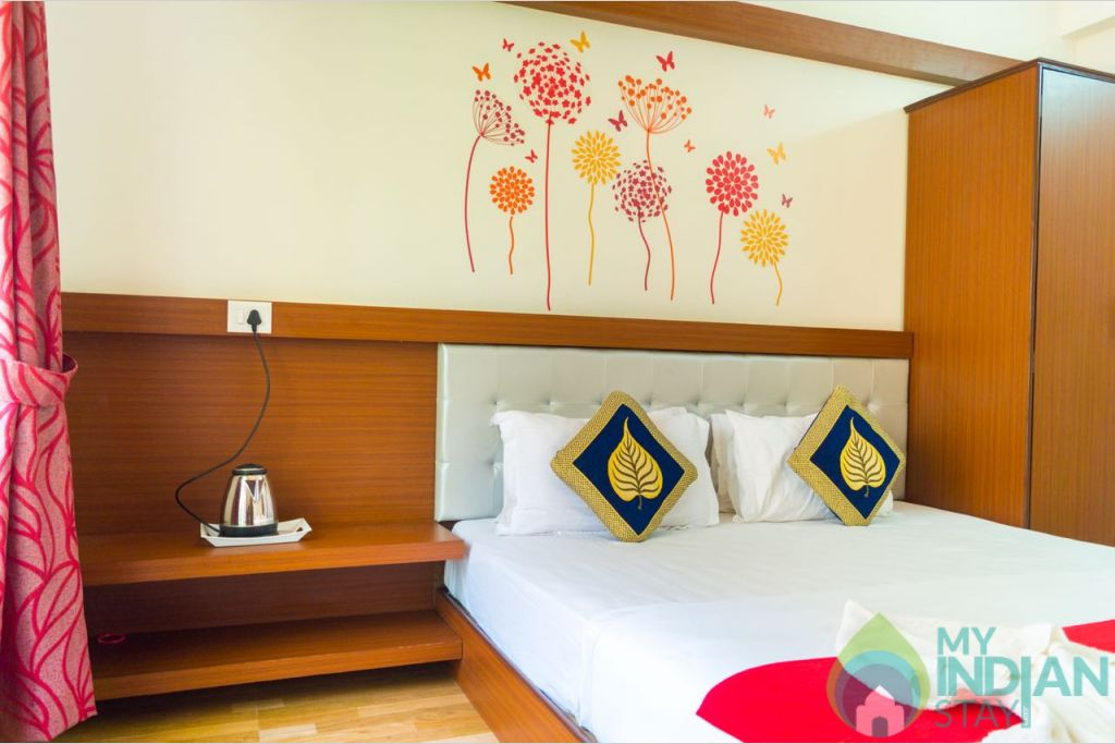 Bed Rooms in a Serviced Apartment in Calangute, Goa