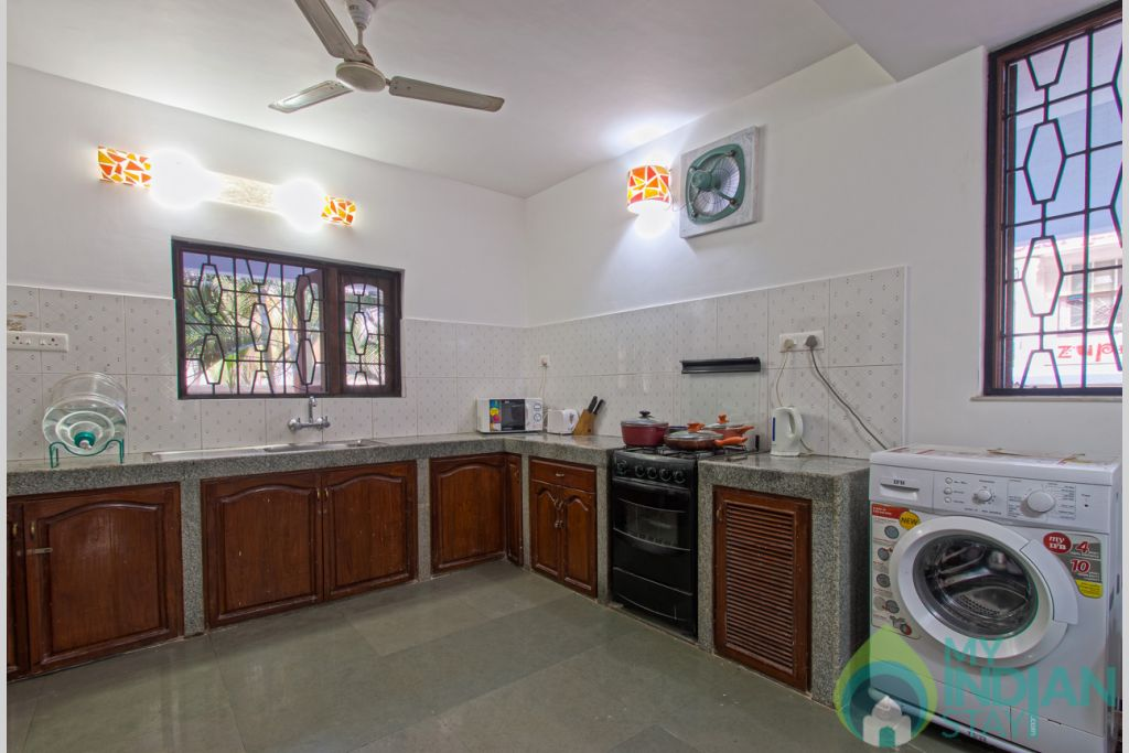 Villa to rent with washing machine in a Villa in Calangute, Goa