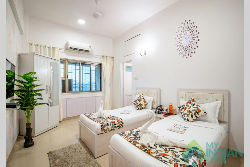 25 (Copy) (Copy) in a Serviced Apartment in Kalanagar, Maharashtra
