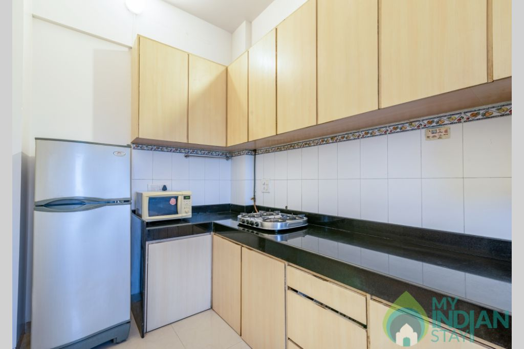 33 (Copy) (Copy) in a Serviced Apartment in Kalanagar, Maharashtra