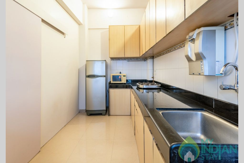 34 (Copy) (Copy) in a Serviced Apartment in Kalanagar, Maharashtra