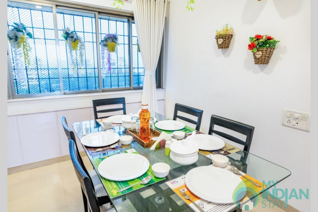 36 (Copy) (Copy) in a Serviced Apartment in Kalanagar, Maharashtra
